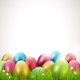 Modern Easter background Stock Image