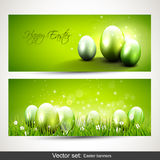 Modern Easter banners Royalty Free Stock Photography