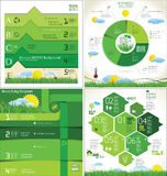 Modern ecology infographic Design Layout Stock Photo