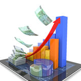 Modern economy Stock Photo
