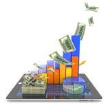 Modern economy Stock Images