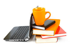 Modern education and online learning Modern educa Royalty Free Stock Image