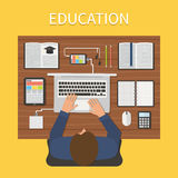 Modern education. Online study concept Royalty Free Stock Image