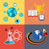 Modern education and science concept Stock Photos