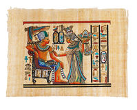 Modern Egyptian parchment copy Royalty Free Stock Photos