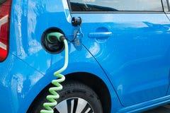 Modern electric car charging Stock Photos