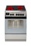 Modern electric cooker stock image