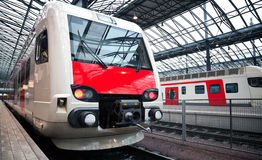 Modern electric express train Royalty Free Stock Photography