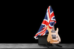 Modern electric guitar Royalty Free Stock Image