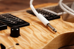 Modern electric guitar Royalty Free Stock Image