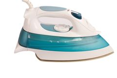 Modern electric iron Royalty Free Stock Photography