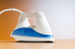 Modern electric iron Royalty Free Stock Image