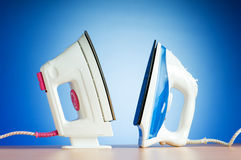 Modern electric iron Royalty Free Stock Photos