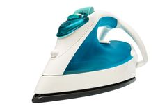 Modern electric iron Royalty Free Stock Photo