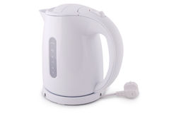 Modern electric kettle (Clipping path) Royalty Free Stock Images