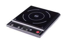 Modern electric stove surface. Stock Photography