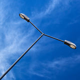 Modern Electric Street Light. Royalty Free Stock Photography