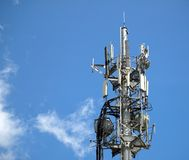 Modern Electronic Communications Royalty Free Stock Photos