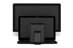 Modern Electronic devices Stock Photography