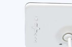 Modern electronic photoframe. Isolated on white background Royalty Free Stock Photography