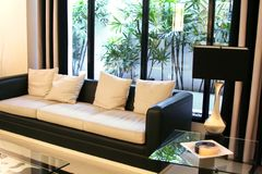 Modern elegant room royalty free stock photography