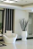 Modern elegant room stock photos