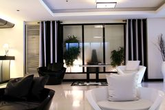 Modern elegant room royalty free stock images