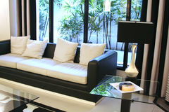 Modern elegant room royalty free stock image