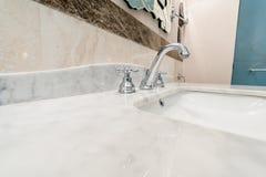 Modern elegant sink in bathroom Royalty Free Stock Photography