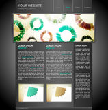Modern and Elegant Website Template Stock Photo