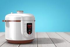 Modern Elektrisch Multikooktoestel het 3d teruggeven Stock Fotografie