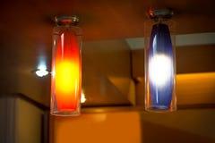 modern elektrisk lampa Arkivfoton