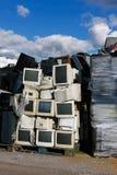 Modern elektronisk avfalls Arkivbild