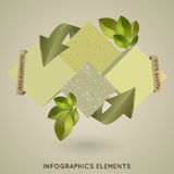 Modern elements of infographics Royalty Free Stock Image