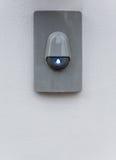 Modern eletric summer med blått symbol Arkivbild