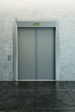 Modern elevator royalty free illustration