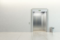 Modern elevator Stock Photography
