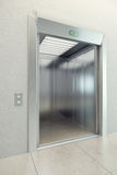 Modern elevator. With open doors Royalty Free Stock Photography