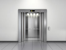 Modern elevator Stock Illustration