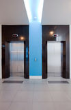 Modern elevator Royalty Free Stock Photo