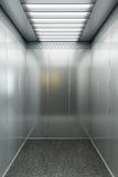 Modern elevator 3d render Royalty Free Stock Photo