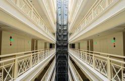 Modern Elevator in Building Stock Photos