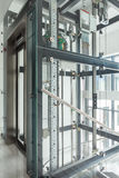 Modern elevator in business office Royalty Free Stock Image