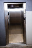 Modern elevator with open doors Royalty Free Stock Photo
