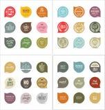 Modern emblemsamling Fotografering för Bildbyråer