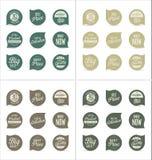 Modern emblemsamling Arkivbild