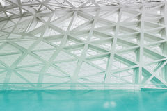 Modern empty atrium interior Stock Image