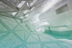 Modern empty atrium interior Stock Photography