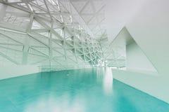 Modern empty atrium interior Stock Photo