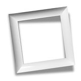 Modern empty frame Stock Photography